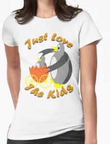 Just Love The Kids Womens Fitted T-Shirt
