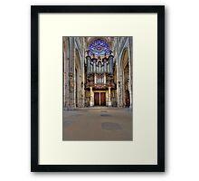 Church of St. Ouen - The Aristide Cavaillé Coll Organ Framed Print