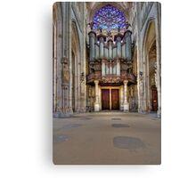 Church of St. Ouen - The Aristide Cavaillé Coll Organ Canvas Print