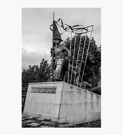 Countess Markievicz Statute ,Sligo, Ireland. Photographic Print