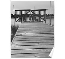 Forbidden Waters - Front Street Beaufort, NC Poster