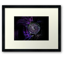 Time Is An Illusion Framed Print