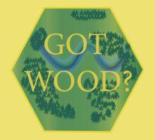 Got Wood? - Catan One Piece - Short Sleeve