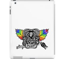Rainbow Rose graffiti love wins iPad Case/Skin