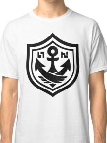 Splatoon SquidForce White Anchor Tee Classic T-Shirt