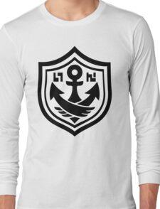 Splatoon SquidForce White Anchor Tee Long Sleeve T-Shirt