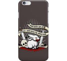 The Rabbit of Caerbannog iPhone Case/Skin