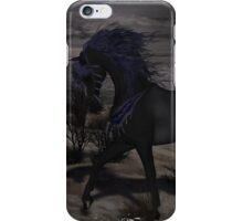 Iaconagraphy Equus: Black Rabicano iPhone Case/Skin