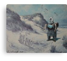 Swooped Canvas Print