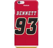 Calgary Flames Sam Bennett Jersey Back Phone Case iPhone Case/Skin