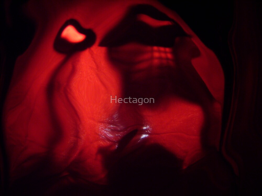 A Rabbit House Full Moon, Abstract Photography, Raw Image by Hectagon