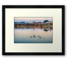 Key West WaterFront Framed Print