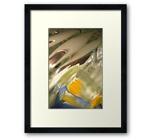 Native Enchantment, Abstract, Raw Image, Photography Framed Print