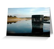 Thornton Steward Reservoir, Wensleydale Greeting Card