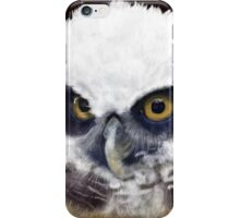Spectacled Owl iPhone Case/Skin
