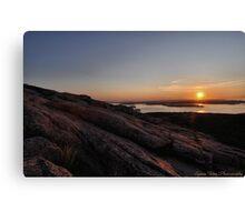 Cadillac Sunrise Canvas Print
