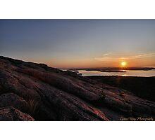 Cadillac Sunrise Photographic Print
