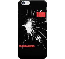 Black Flag - Damaged iPhone Case/Skin