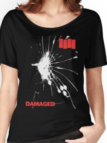 Black Flag - Damaged Women's Relaxed Fit T-Shirt