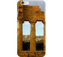 Agrigento Then and Now iPhone Case/Skin