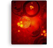 Abstract - Nebula Canvas Print