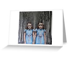 Play With Us Greeting Card