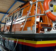 Lifeboat at Lytham St Annes by Jervaulx