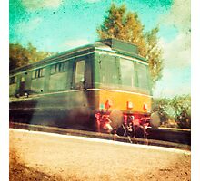Vintage Diesel Train Photographic Print