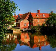 Flatford Mill Suffolk by plumart