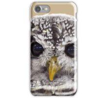 Rufous Legged Owl Portrait iPhone Case/Skin