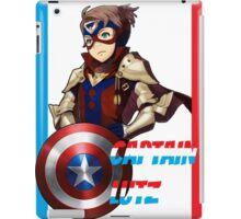 CAPTAIN LUTZ [Fire Emblem x Captain America] iPad Case/Skin