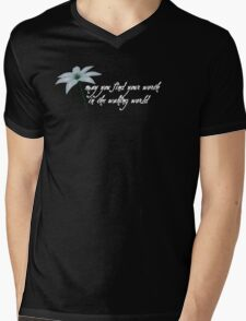 """Plain Doll """"may you find your worth in the waking world"""" Mens V-Neck T-Shirt"""