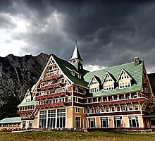 The Prince of Wales Hotel, Waterton Lakes NP by Teresa Zieba
