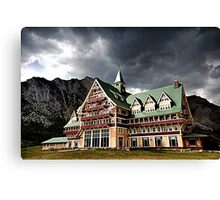 The Prince of Wales Hotel, Waterton Lakes NP Canvas Print