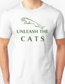 Unleash The Cats (Large Logo - Green) T-Shirt