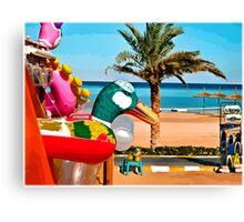 beach toys #1 Canvas Print