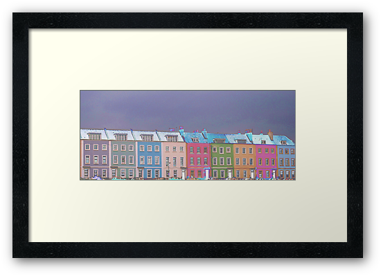 'Rainbow Row' by Christine Lake