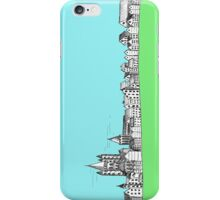 spring sketchy town iPhone Case/Skin
