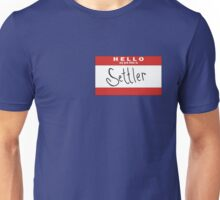 Hello, my job title is SETTLER of CATAN Unisex T-Shirt