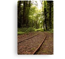 Lost Railway Canvas Print