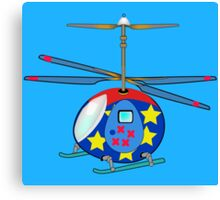 Mikie the Helicopter Canvas Print