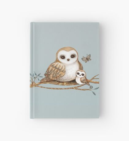 Baby Barn Owl Hardcover Journal