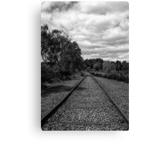 Rail to Nowhere Canvas Print