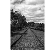 Rail to Nowhere Photographic Print