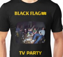 Black Flag - TV Party Unisex T-Shirt