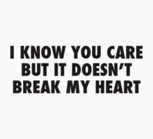 I Know You Care. by Mariapuraranoai