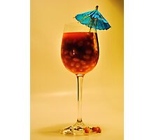'Baked Bean Cocktail' Photographic Print