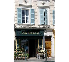 characteristic facades France Photographic Print
