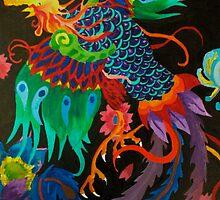bird of paradise by ShaunaDZ