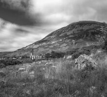 Mount Errigal and the Derelict Church by MarcoBell